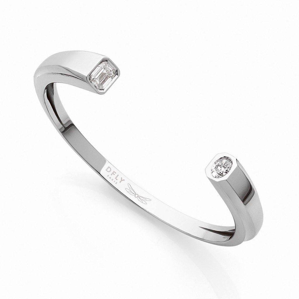 Oddity Bracelet 18k (750/1000) White Gold. - DFLY Paris