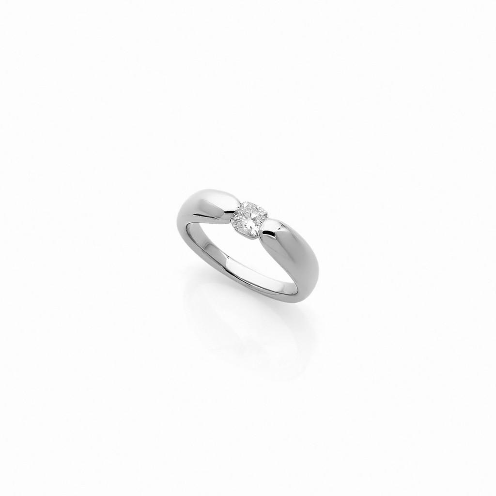 Alcione Ring (950/1000) Platinum. - DFLY Paris